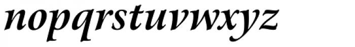 Arrus BT Bold Italic Font LOWERCASE