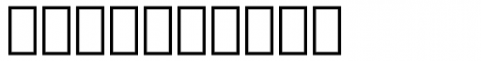 Arrus BT Italic Extension Font OTHER CHARS