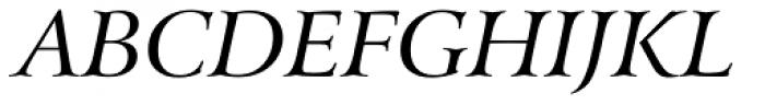 Arrus BT Italic Font UPPERCASE