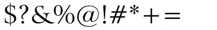 Arrus BT Roman Font OTHER CHARS