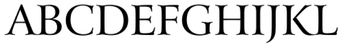 Arrus OSF BT Roman Font UPPERCASE