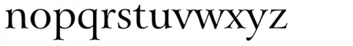 Arrus OSF BT Roman Font LOWERCASE