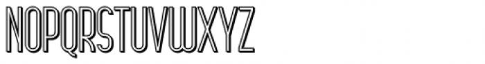 Arsinoe Bold Shadow Font UPPERCASE