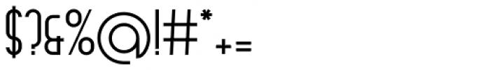 Arsinoe DemiBold Font OTHER CHARS