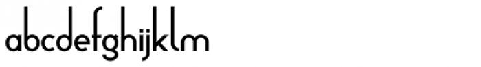 Arsinoe DemiBold Font LOWERCASE