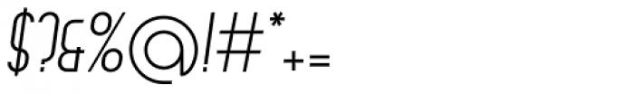 Arsinoe Italic Font OTHER CHARS