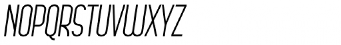 Arsinoe Italic Font UPPERCASE