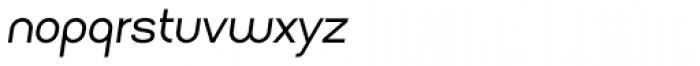 Arsinoe Italic Font LOWERCASE