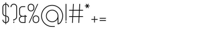 Arsinoe Light Font OTHER CHARS