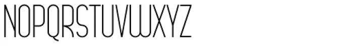Arsinoe Light Font UPPERCASE