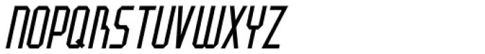 Art And Design Oblique JNL Font UPPERCASE