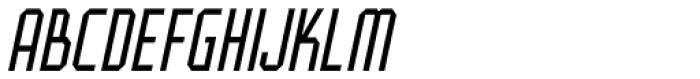Art And Design Oblique JNL Font LOWERCASE