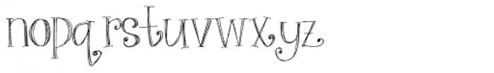 Art Party Regular Font LOWERCASE