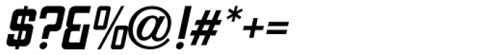 Art Topic Oblique JNL Font OTHER CHARS