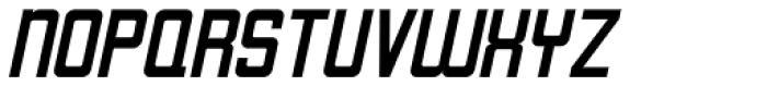 Art Topic Oblique JNL Font UPPERCASE