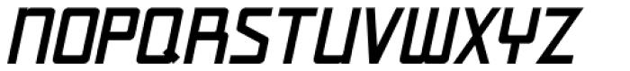 Art Week Oblique JNL Font UPPERCASE