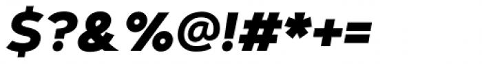 Artegra Sans Alt ExtraBold Italic Font OTHER CHARS