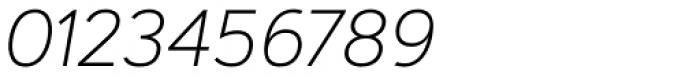 Artegra Sans Alt ExtraLight Italic Font OTHER CHARS