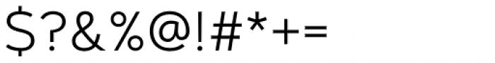 Artegra Sans Alt Light Font OTHER CHARS