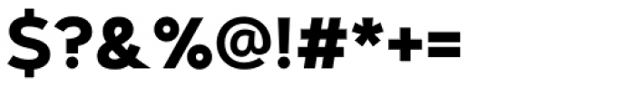 Artegra Sans Bold Font OTHER CHARS