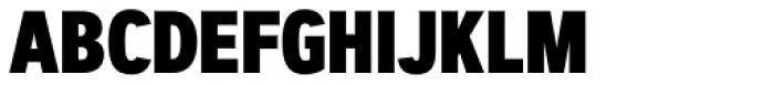 Artegra Sans Condensed Alt ExtraBold Font UPPERCASE