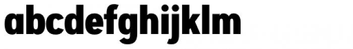 Artegra Sans Condensed Alt ExtraBold Font LOWERCASE