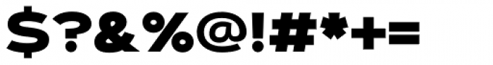 Artegra Sans Extended Alt Black Font OTHER CHARS