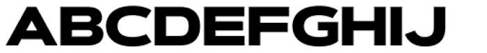 Artegra Sans Extended Black Font UPPERCASE