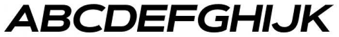 Artegra Sans Extended SC Bold Italic Font UPPERCASE