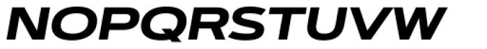 Artegra Sans Extended SC Bold Italic Font LOWERCASE