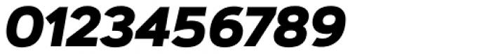 Artegra Sans ExtraBold Italic Font OTHER CHARS