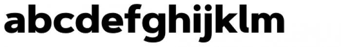 Artegra Sans ExtraBold Font LOWERCASE