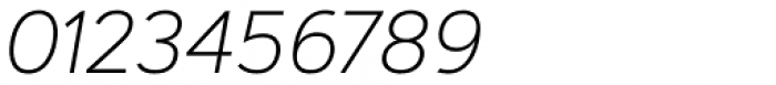 Artegra Sans ExtraLight Italic Font OTHER CHARS