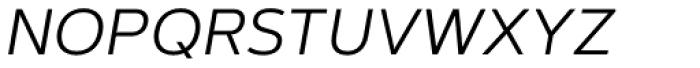 Artegra Sans SC Light Italic Font LOWERCASE