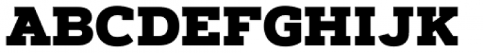 Artegra Slab Black Font UPPERCASE