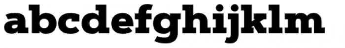 Artegra Slab Black Font LOWERCASE