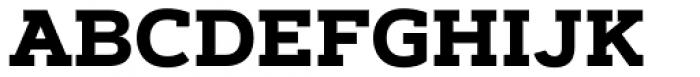 Artegra Slab Bold Font UPPERCASE