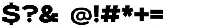Artegra Slab Extended ExtraBold Font OTHER CHARS