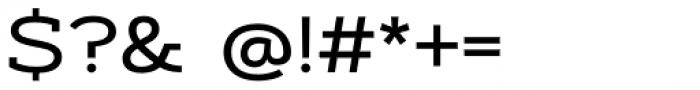 Artegra Slab Extended Medium Font OTHER CHARS
