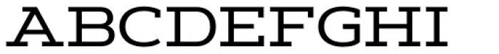 Artegra Slab Extended Medium Font UPPERCASE