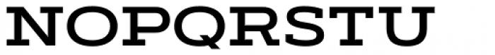 Artegra Slab Extended SemiBold Font UPPERCASE