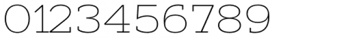 Artegra Slab Extended Thin Font OTHER CHARS