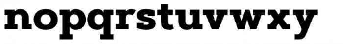 Artegra Slab ExtraBold Font LOWERCASE