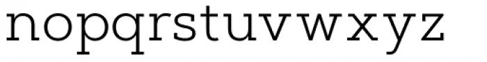 Artegra Slab Light Font LOWERCASE