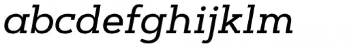 Artegra Slab Medium Italic Font LOWERCASE