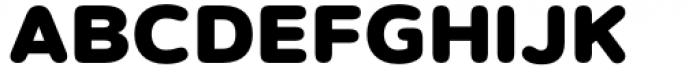 Artegra Soft Black Font UPPERCASE