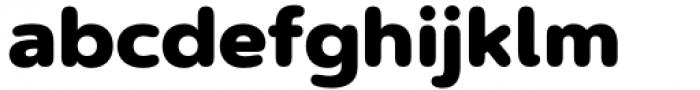 Artegra Soft Black Font LOWERCASE