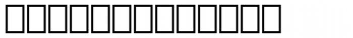 Artemis Sans Palma Font LOWERCASE