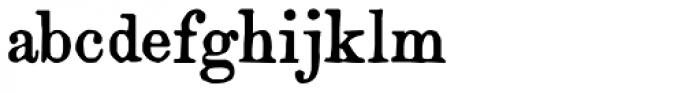 Artful Dodger Font LOWERCASE