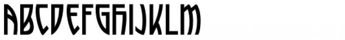 Artful Nouveau JNL Font LOWERCASE